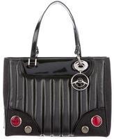 Christian Dior License Plate Montaigne Satchel
