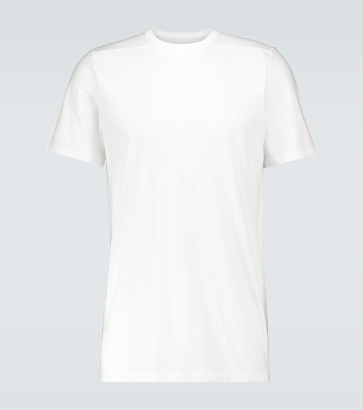 Rick Owens Level short-sleeved cotton T-shirt