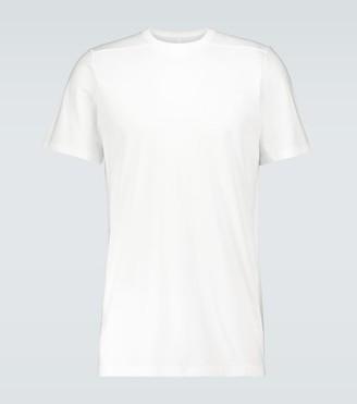 Rick Owens Level short-sleeved cotton T-shirt