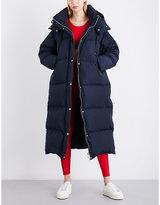 Tommy Hilfiger x Gigi Hadid oversized padded hooded shell coat