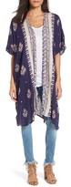 Angie Women's Print Kimono
