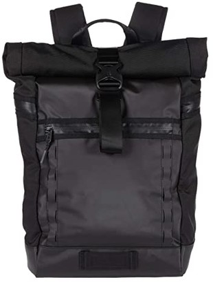 Timbuk2 Tech Roll Top (Jet Black) Backpack Bags