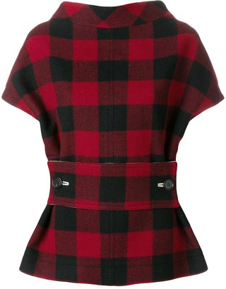 Marni Structural Checked Blouse