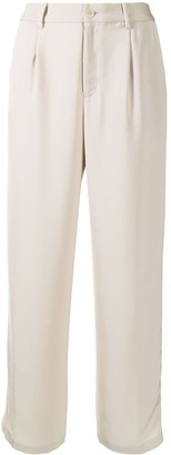 Coohem Knitted-Side Stripe Trousers