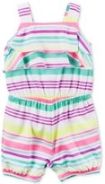Carter's Mixed-Stripe Romper, Baby Girls (0-24 months)