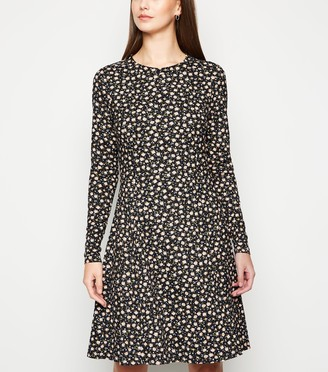 New Look Tall Floral Soft Touch Skater Dress
