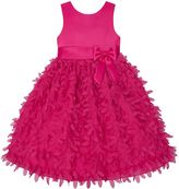Toddler Girl American Princess Satin Petal Dress