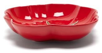 Bordallo Pinheiro - Tomato Earthenware Pasta Plate - Red