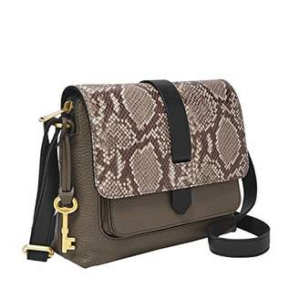Fossil Women's Kinley Leather Small Crossbody Handbag