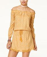 Roxy Juniors' Off-The-Shoulder Peasant Dress