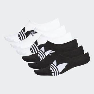 adidas Trefoil Super-No-Show Socks 6 Pairs
