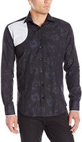 Bogosse Men's D-Rider Long Sleeve Button Down Shirt
