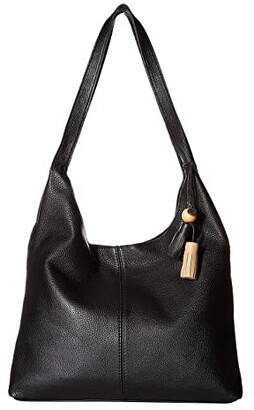 The Sak Huntley Hobo (Black) Hobo Handbags