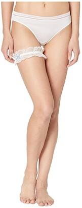 Bluebella Bridal Garter with Organza Bag (Ivory) Women's Underwear