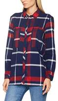 Tommy Hilfiger Women's Thdw Check Tunic L/S 16 Blouse