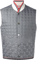 Thom Browne waistcoat - men - Feather Down/Nylon/Cupro/Feather - 1