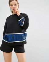 Asilio Record Sweater with Block Stripe