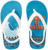 Osh Kosh OshKosh Shark Print Flip Flops