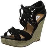 Naughty Monkey Women's Starshine Wedge Sandal,