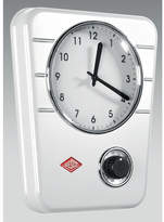 Wesco Kitchen Wall Clock Colour: White