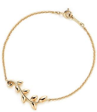 Tiffany & Co. Paloma Picasso Olive Leaf vine bracelet in 18k gold, small