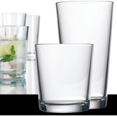 Home Essentials and Beyond Alanya Highball & Double Old Fashioned Glasses - Set of 16