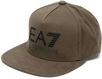 Emporio Armani Ea7 contrast logo baseball cap