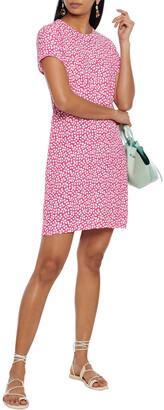 Diane von Furstenberg Carlotta Printed Crepe Mini Dress