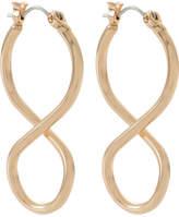 David Jones Infinity Twist Hoop Earring