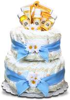 Burt's Bees Alder Creek Gifts Boy's Diaper Cake