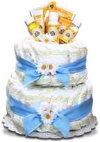Burt's Bees Alder Creek Gifts Boy's Diaper Cake