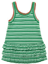 Vintage Green Stripe Sundress