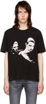 Saint Laurent Black Couple T-shirt