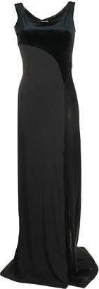 Gianfranco Ferré Pre Owned 1990s Side Slit Panelled Dress