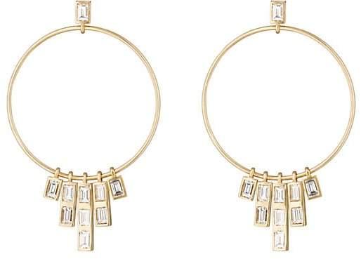 Ileana Makri Women's Pyramid Earrings