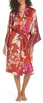 Natori Women's Auburn Floral Print Wrap