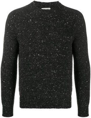 Saint Laurent Round-Neck Knitted Jumper