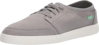 Sanuk Vagabond Lace Sneaker Grey 10