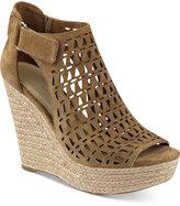 Marc Fisher Helina Platform Espadrille Wedge Sandals