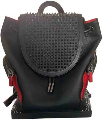 Christian Louboutin Black Leather Bags