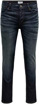 ONLY & SONS Five-Pocket Slim-Fit Jeans