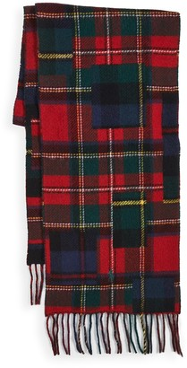 Polo Ralph Lauren Patchwork Plaid Scarf