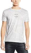 New Look Men's NYC Chest Logo Short Sleeve Top