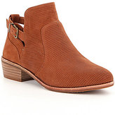 GB Per-Fected Perforated Leather Buckle Booties