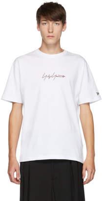 Yohji Yamamoto White New Era Edition Short Sleeve T-Shirt