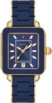 Michele Deco Sport Watch Head & Bracelet, 34mm x 36mm