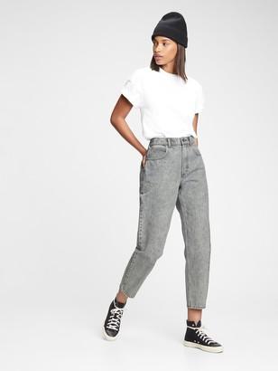 Gap High Rise Barrel Jeans