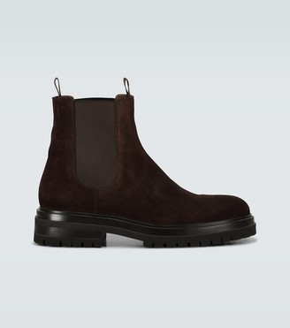 Gianvito Rossi Exclusive to Mytheresa - Harry suede Chelsea boots