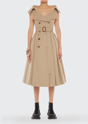 Alexander McQueen Exploded Trench Dress
