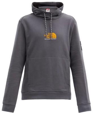 The North Face Alpine Drawcord Hooded Sweatshirt - Grey